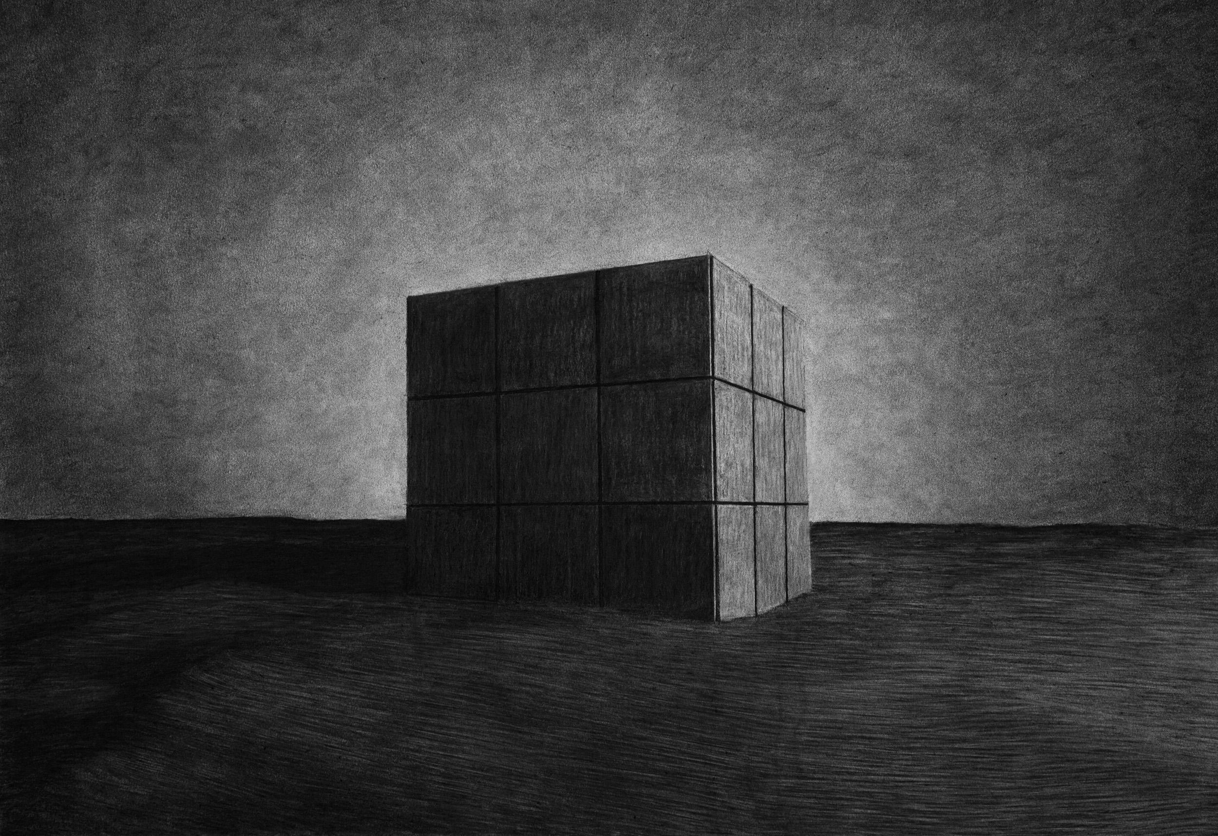 Charcoal drawing | 2016 | 73 x 51 cm