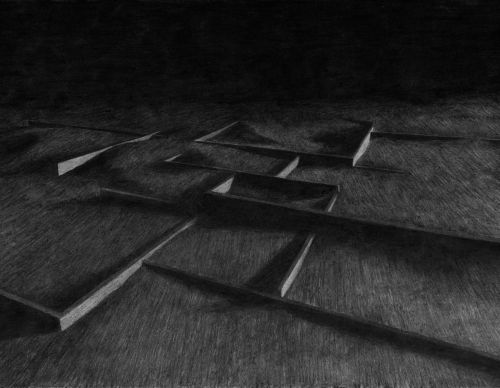 Charcoal drawing | 2016 | 73 x 51 cm