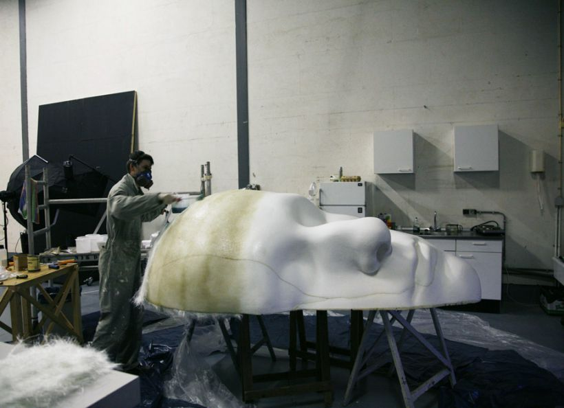 applying fibreglass